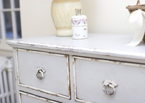 dusty blue dresser